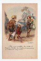 - CPA POULBOT (Illustrateurs) - LIGUE NATIONALE CONTRE LE TAUDIS - Edition A. Rampin - - Poulbot, F.