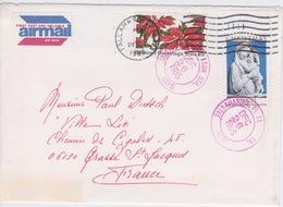 1985 - STORIA POSTALE - AMERICA - USA - AIR MAIL - USPO - TALLAHASSEE FLORIDA - Amérique Centrale