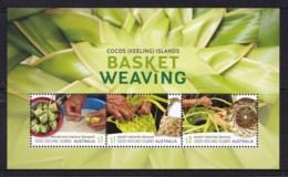 Cocos Islands 2018 Basket Weaving Minisheet MNH - Cocos (Keeling) Islands