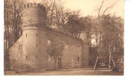 Gaasbeek-Gaesbeek Bij Brussel(Lennik)+/-1910-Kasteel-Château-Oude Schuur Met Kanteelen-Vieile Grange Crênelée - Lennik