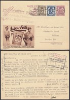 "Publibel 369 - Voyagé Petit Lion Vers Angleterre - Thématique Pharmacie "" Vitaminor "" (6G23184) DC0683 - Stamped Stationery"