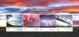 Australia 2018 Cloudscapes Minisheet MNH - 2010-... Elizabeth II