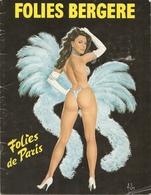 Folies Bergère - Folies De Paris Programme Hélène Martini Présente Sa Nouvelle Super Revue - Programs