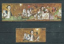 AUSTRALIE  Yvert  N° 407 à 412 ** - 1966-79 Elizabeth II