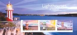 Australia 2018 Lighthouses Of Sydney Minisheet MNH - 2010-... Elizabeth II