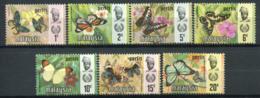 Perlis 1971 Mi. 47-53 Neuf ** 100% Papillons - Perlis