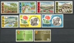 Malaisie 1966-67 Neuf ** 100% Culture, L'indépendance - Malaysia (1964-...)