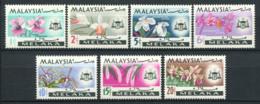 Malacca 1965 Mi. 66-72 Neuf ** 100% Orchidées, Fleurs - Malacca