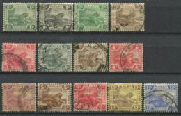 États Malais Fédérés 1906-1931 Oblitéré 80% Tigre - Federated Malay States