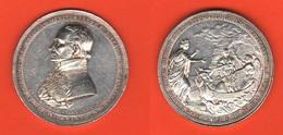 Austria Medaille  Medaglia 1826 Wien Doctor Medizin MédecineMedicina - Professionali / Di Società