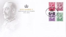 Australia 2014 King George V Centenary FDC - FDC