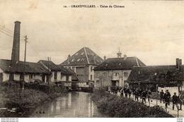 GRANDVILLARS - Usine Du Château.  2 Scans  Très Bon état - Grandvillars