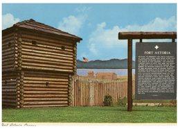 (50) USA - Fort Astoria (Oregon) - History