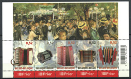 Belgique 2007 Mi. Bl. 117 Bloc Feuillet 100% Neuf ** Musique, Culture - Blocs 1962-....