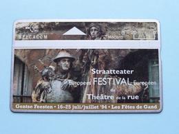 GENTSE FEESTEN 1994 Gand / STRAATTEATER Europees FESTIVAL ( Zie Foto's ) ! - Without Chip