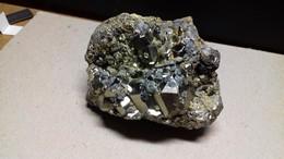 Galène Sur Pyrite - Minéraux
