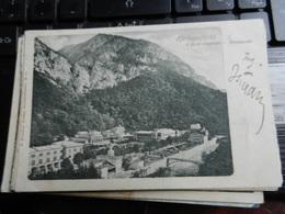 19807) HERKULESFURDO A FURDO KOZPONTJA MITTELPUNKT VIAGGIATA 1921 - Romania