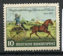 Allemagne Bund 1952 Mi. 160 Neuf ** 100% Chevaux - [7] République Fédérale