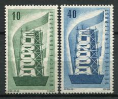 Allemagne Bund 1956 Mi. 241-242 Neuf ** 100% Europa CEPT - Neufs