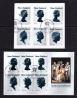 New Zealand 2013 Queen Elizabeth - Coronation 60th Anniversary Set Of 6 + Minisheet Used - New Zealand
