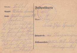 German Feldpost WW2: Wachkommando 646 In Krakau I W/o Postmarkbut Card Is Signed 7.7.1940 (T20-8) - Militaria