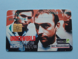 UNDERWORLD TORHOUT - WERCHTER 1998 ( Zie Foto's ) Belgacom Met Chip ! - Music