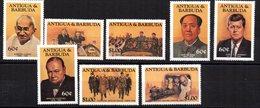 Serie Nº 797/804 Antigua Y Barbuda - Mao Tse-Tung