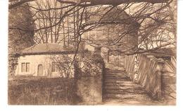 Gaasbeek-Gaesbeek (Lennik)+/-1910-Kasteel-Lustpaviljoen-Kapelaanswoning-Pavillon De Plaisance-Maison Du Chapelain - Lennik
