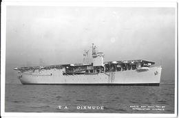 TRANSPORT BATEAU NAVIRE GUERRE PORTE-AVION T.A. DIXMUDE EDIT. BAR TOULON - Guerre