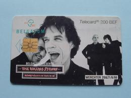 THE ROLLING STONES Bridges To Babylon Tour '97 - 98 ( WERCHTER 1998 / Zie Foto's ) Belgacom Met Chip ! - Musik