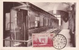 FRANCE 1938 CARTE MAXIMUM DE RETHONDES - Maximum Cards