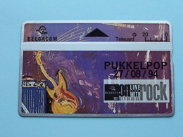 PUKKELPOP 27/08/94 ( Zie Foto's ) Belgacom ! - Music