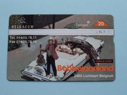 BOBBEJAANLAND Lichtaart Belgium FAMILIE PARK ( Zie Foto's ) Belgacom ! - Musica