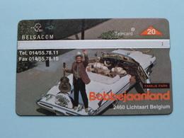 BOBBEJAANLAND Lichtaart Belgium FAMILIE PARK ( Zie Foto's ) Belgacom ! - Música