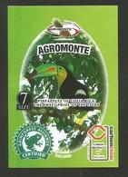 # PINEAPPLE AGROMONTE Type 2 Size 7 CARBON CLEAR Fruit Tag Balise Anhanger Costa Rica Ananas Pina Toucan Tukan Tucano - Fruit En Groenten