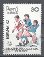Peru / Perou 1982 Yvert 735 España '82, Football World Cup - MNH - Perú