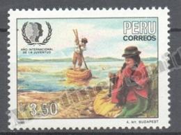 Peru / Perou 1986 Yvert 828,  International Year Of The Youth - MNH - Peru