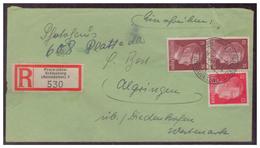 Sudetenland (006110) EinschreibenEinschreibezettel Freiwaldau-Grätenberg, Ostsudetenland, Gelaufen Am 1.2.1944 - Sudetenland