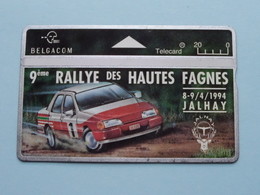 9ème RALLYE Des HAUTES FAGNES 8-9/4/1994 JALHAY ( Zie Foto's ) Belgacom ! - Auto's