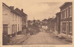 MONTIGNY LE TILLEUL / RUE DE MONT SUR MARCHIENNE 1929 - Montigny-le-Tilleul