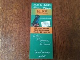 Marque Page Librairie Chouette - Bookmarks