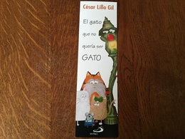 Marque Page Chat - Bookmarks