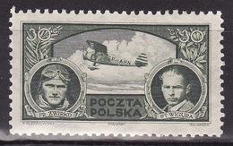 Poland 1933 Franciszek Zwirko And Stanislaus Wigura - Mi. 280 - MH* - 1919-1939 République