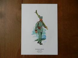 Image De Feldgendarme à Ski Sous Le III° Reich - Documents