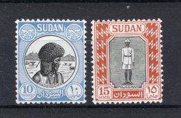 SUDAN Yt. 101/102 MNH** 1951 - Sudan (...-1951)
