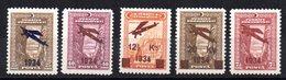 Serie Nº A-1/5 Turquia - 1921-... República