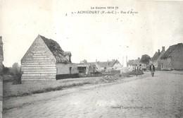 Achicourt . La Rue D'arras - Autres Communes