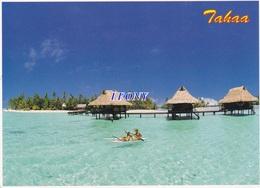 CPM De L' ILE De TAHAA - VANINE ISLAND Un ATOLL PRIVE Situé Sur Le LAGON - French Polynesia