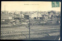 Cpa  Du 60 Montataire Ateliers Des Ponts      YN10 - Montataire