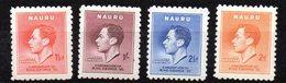 Serie Nº 33/6  Nauru - Nauru